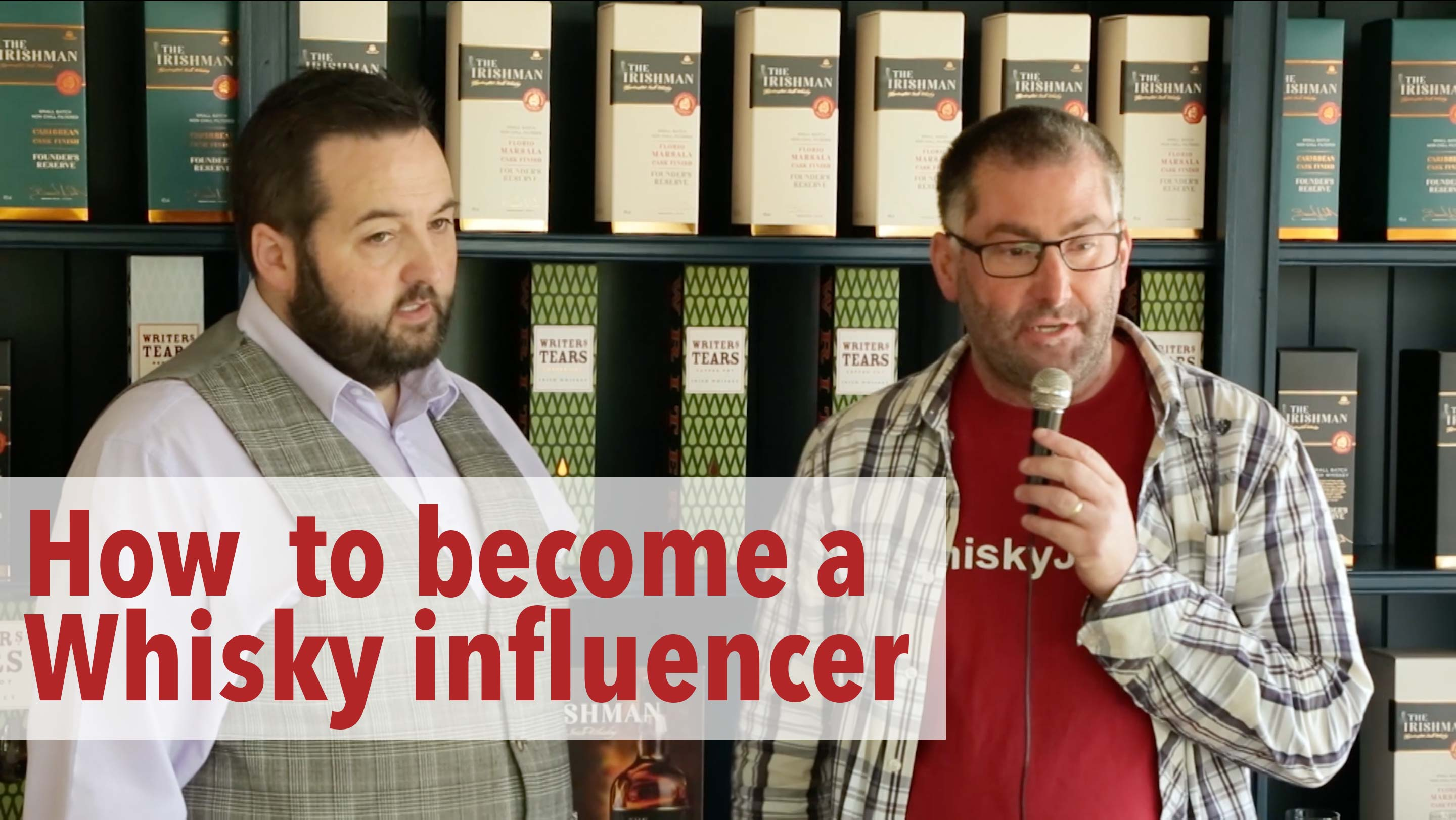 How to become a Whisky influencer!